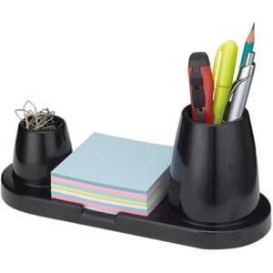 ... que também serve para organizar o post-it e os clipes. Muito útil para  as mesas de trabalho ou mesa de estudos e custa entre 8 e 15 reais 562654637f0
