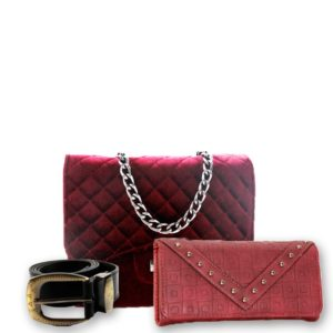 d5088897e9 Conjunto de bolsa e carteira. Ou que tal você procurar ou montar um kit bem  legal
